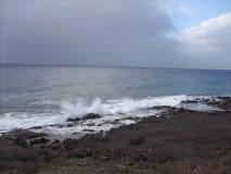 Ветер на белой воде Стоковые Изображения RF