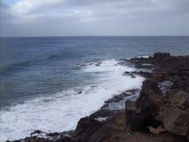 Ветер на белой воде Стоковые Фотографии RF