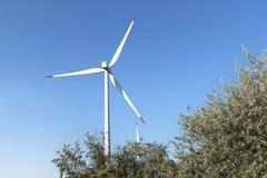 Ветер поля энергии силы генератора Стоковое фото RF