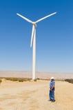 ветер приведенный в действие генератором Стоковые Фотографии RF