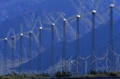 ветер силы генераторов Стоковое Изображение