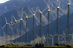 ветер силы генераторов Стоковое Изображение RF