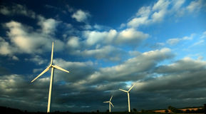 ветер силы Стоковое Изображение