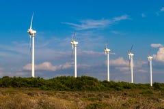 ветер способный к возрождению турбин fuerteventura Испании энергии Стоковая Фотография