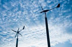 ветер турбины генератора Стоковая Фотография