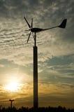 ветер турбины генератора Стоковые Изображения