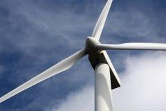 ветер турбины зеленой силы энергии Стоковое Изображение