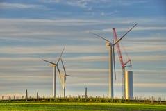 ветер турбины конструкции Стоковое Фото