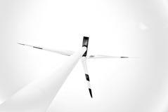 ветер турбины электростанции энергии Стоковое Изображение RF