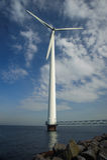 ветер турбины стоковое изображение