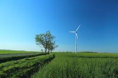 ветер турбины Стоковые Фото