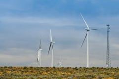 ветер турбин альтернативной энергии Стоковое фото RF