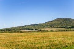 ветер турбин ландшафта сельский Стоковые Фото