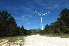 ветер турбин фермы Стоковые Фотографии RF