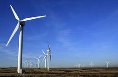 ветер турбин фермы Стоковое Изображение RF