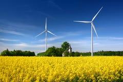 ветер турбин Стоковые Фотографии RF