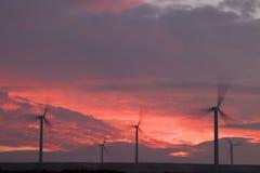 ветер турбин Стоковые Изображения