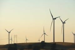 ветер фермы перепада стоковое фото rf