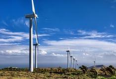 ветер фермы сельской местности Стоковое фото RF