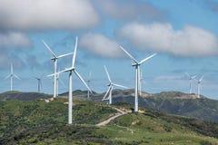ветер фермы экологически чистая энергия Стоковое фото RF