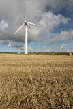 ветер фермы cornwall стоковые фотографии rf