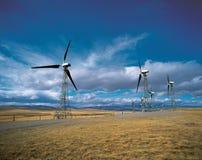 ветер фермы cowley alberta Стоковая Фотография RF