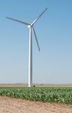 ветер электричества приведенный в действие генераторами Стоковое Изображение RF