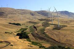 ветер энергии Стоковое фото RF