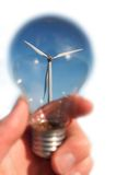 ветер энергии стоковые фотографии rf