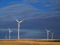 ветер энергии Стоковые Изображения