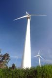 ветер энергии Стоковое Изображение