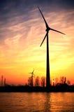 ветер энергии Стоковые Изображения RF
