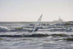 ветер 2 серферов Стоковое Изображение