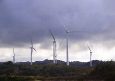 ветер oahu стана Гавайских островов фермы Стоковая Фотография