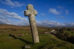 Ветреный крест столба Стоковое Фото
