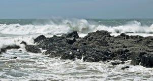 Ветреный прилив Стоковая Фотография RF