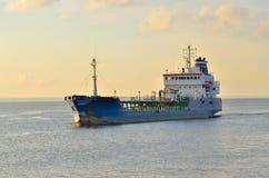Ветрила корабля на море Стоковые Изображения RF