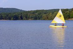 ветрило озера Стоковая Фотография RF