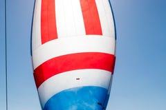 Ветрило яхты плавания Стоковое фото RF