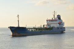 Ветрила корабля на море Стоковые Фотографии RF