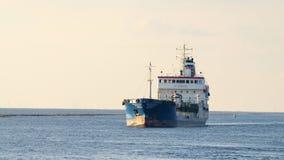Ветрила корабля на море Стоковые Фото