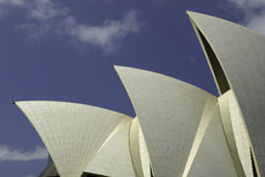Ветрила оперного театра Сиднея, Австралии Стоковые Фотографии RF