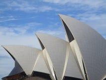 Ветрила оперного театра Сиднея Стоковая Фотография