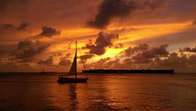 Ветрило Key West Стоковые Фото
