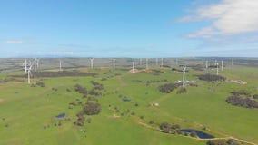 Ветровая электростанция видеоматериал