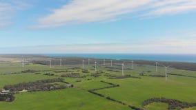 Ветровая электростанция акции видеоматериалы