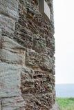 Ветровая эрозия на стене песчаника Стоковые Изображения RF