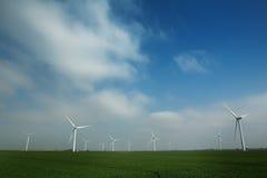 Ветровая электростанция Стоковая Фотография