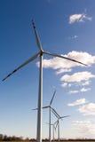 Ветровая электростанция Стоковые Изображения