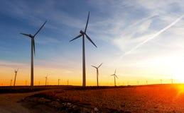 Ветровая электростанция Стоковое Изображение